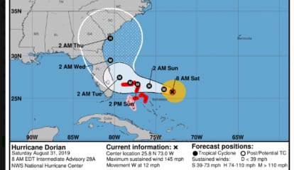 Tracking Dorian: New Projected Path For Cat 4 Hurricane; Possible Impact On This Area Unclear