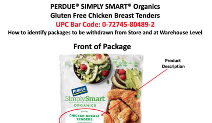 Perdue Recalls Ready-to-Eat Chicken Products