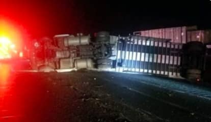 I-84 Reopens After Rollover Tractor-Trailer Crash