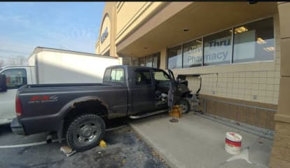 Pickup Truck Crashes Into Rite Aid On Route 9