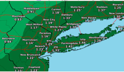Storm Watch: Here's How Much Rainfall To Expect, Where There Will Be A Wintry Mix