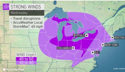 Strong Winds Will Whip Through Region During Thanksgiving Travel