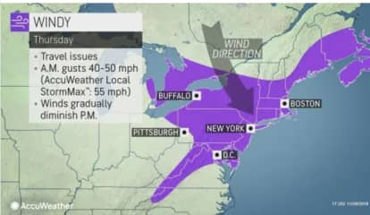 Whipping Winds Mark Start Of Thanksgiving Weekend, With Snow Expected At End