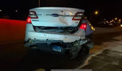 State Trooper Rear-Ended By Tesla On 'Autopilot' On I-95 In Norwalk