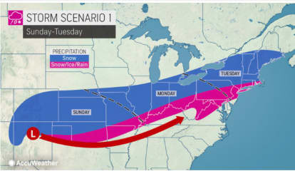 Eye On The Storms: Separate Systems Will Move Through, With One Bringing Wintry Mix, Snow