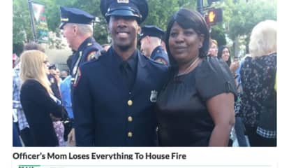 Mom Of Jersey City Police Officer Lost Everything In 'Devastating' House Fire