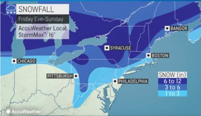 Strong, Gusty Winds Will Be Followed By Big Drop In Temperatures, Storm With Accumulating Snow