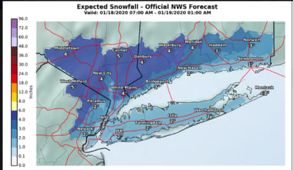 Here Are Brand-New Snowfall Projections For Fast-Moving Weekend Storm