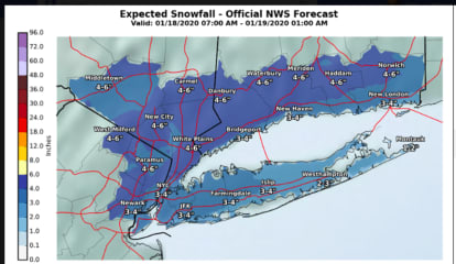 New Snowfall Projections Increase As Strong Winter Storm Approaches Area