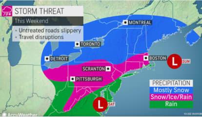 Weekend Storm Will Follow Return Of More Seasonable Temperatures