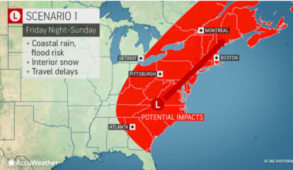 Storm Scenarios: Will Potential Nor'easter Move Up Coast Or Veer Out To Sea?