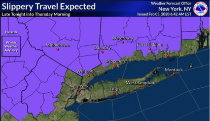 Storm Watch: Winter Weather Advisory Issued For Much Of Area With Hazardous Travel Possible
