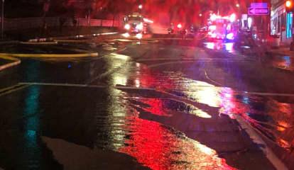 Tanker Truck Fire Breaks Out Near High School In Area