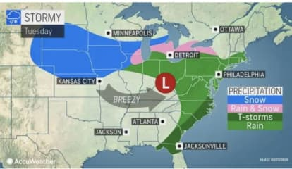 Storm Will Sweep Through Area Following Spring-Like Start To Week