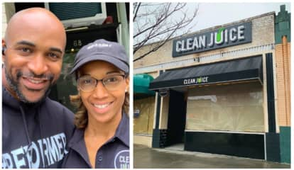 Former NY Giant David Tyree Opens NJ's First Clean Juice Shop In Morristown