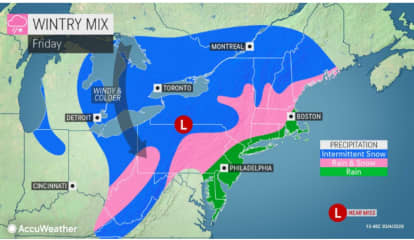 Here's Latest On Storm System That Will Bring Mix Of Snow, Rain To Region
