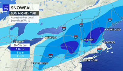 Storm Watch: Here Are Latest Projections On Snowfall Totals, Timing