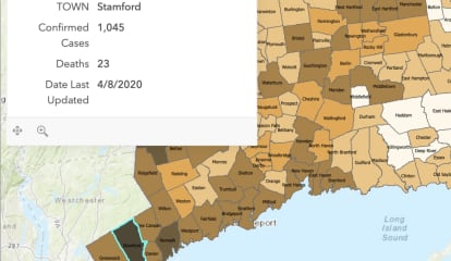 COVID-19: Stamford, At Epicenter Of Pandemic In Connecticut, Now Has 1,045 Cases, 23 Deaths