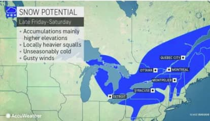 Storm Bringing Snow To Parts Of Area Will Be Packed With Winds That Could Cause Power Outages