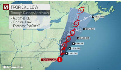 Tropical System Will Bring Up To 6 Inches Of Rain, Flash Flooding, Travel Disruptions To Region