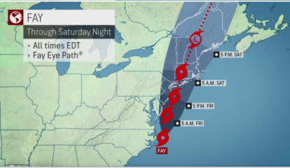 System That Will Move Through Region Upgraded To Tropical Storm Fay: Here's What's Coming