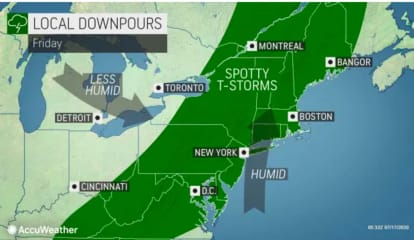 Showers, Storms Will Lead To Big Change In Weather Pattern