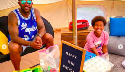 Alpine's CC Sabathia Throws Son Backyard Birthday Bash