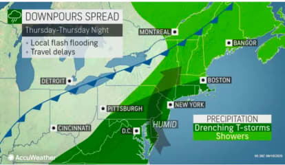 Storm System With Heavy Rain, Possible Flooding Will Lead To Big Change In Weather Pattern