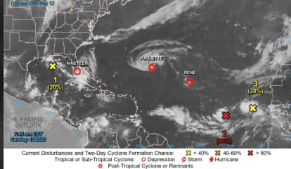 Tropical Storm Paulette Expected To Become Hurricane As It Moves West Toward Bermuda
