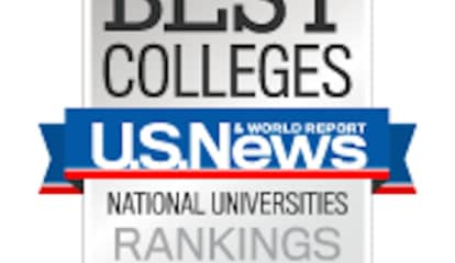 Northeast Region Well-Represented In New U.S. News & World Report Top 40 College Rankings