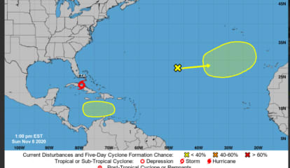 Tropical Storm Moving Toward US Could Become Hurricane