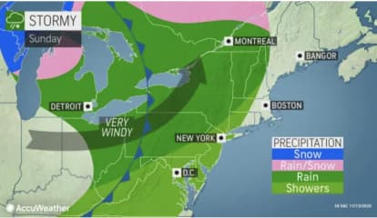 Stormy, Windy Weather Will Sweep Through Region After Brisk, Dry Start To Weekend