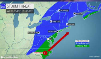 Separate Chances For Snow Coming, Including Potential Midweek Nor'easter