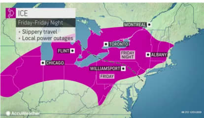 Separate Storm Systems Will Bring Mix Of Rain, Sleet, Snow During First Days Of New Year