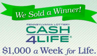 WINNER: Cash4Life Player In Pennsylvania Takes Home $52K Annually