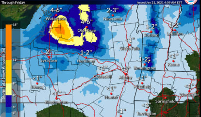 Several Chances For Snow Before Possible Winter Storm