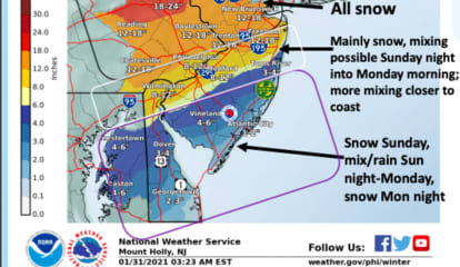 Nasty Nor'easter (UPDATE): Expect Blizzard-Like Effects On Travel, Power