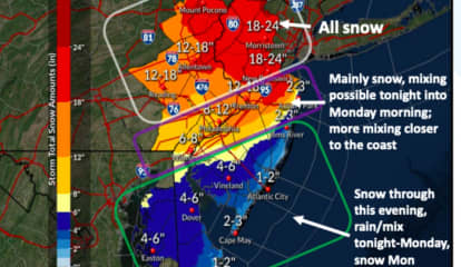 STORM WATCH: 50 MPH Winds, 2 Feet Of Snow On The Way