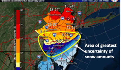 STORM WATCH: 50 MPH Winds, Foot Or More Of Snow On The Way