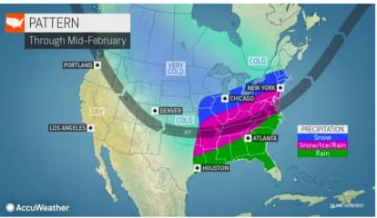 Major Storm Tracks South Of Region, But Several More Snow Chances Await This Area