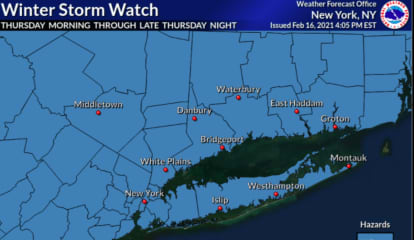 Winter Storm Watch Issued For Region: Here's Latest On What's Coming