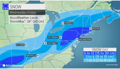 Projected Snowfall Totals Increase For Strong Storm Taking Aim On Area