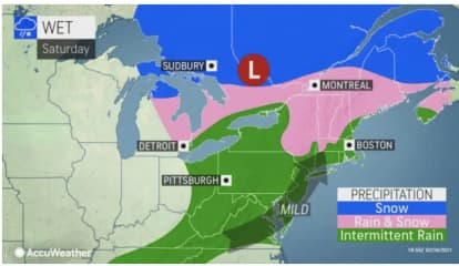 New Round Of Snow Will Usher In Start Of Weekend: Five-Day Forecast