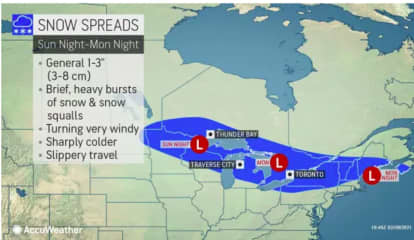 New Storm System Will Sweep Through Region: Here Are Areas Where Snowfall Is Expected