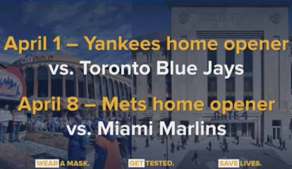 Play Ball: Mets, Yankee Fans Allowed In Stands For Opening Day