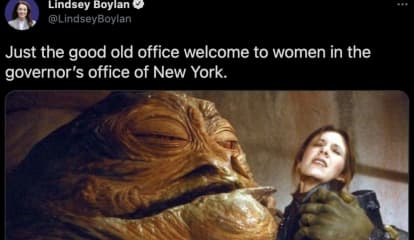 First Accuser Compares Cuomo Embrace To Star Wars Character