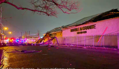 PHOTOS: Possible Tornado With Gusts Up To 70 MPH Tears Through NJ, PA