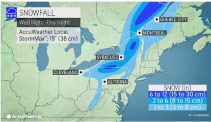 It's Snow Joke: Storm Will Bring Up To A Foot Of Accumulation For These Parts Of Northeast