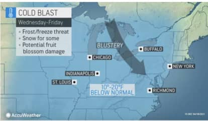 Wintry Blast Will Bring Dramatic Drop In Temps, Snow For Some In Parts Of Region
