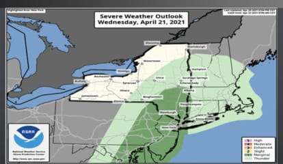 Quick-Moving, Possibly Severe Storms Will Bring Damaging Winds, Snow To Parts Of Region